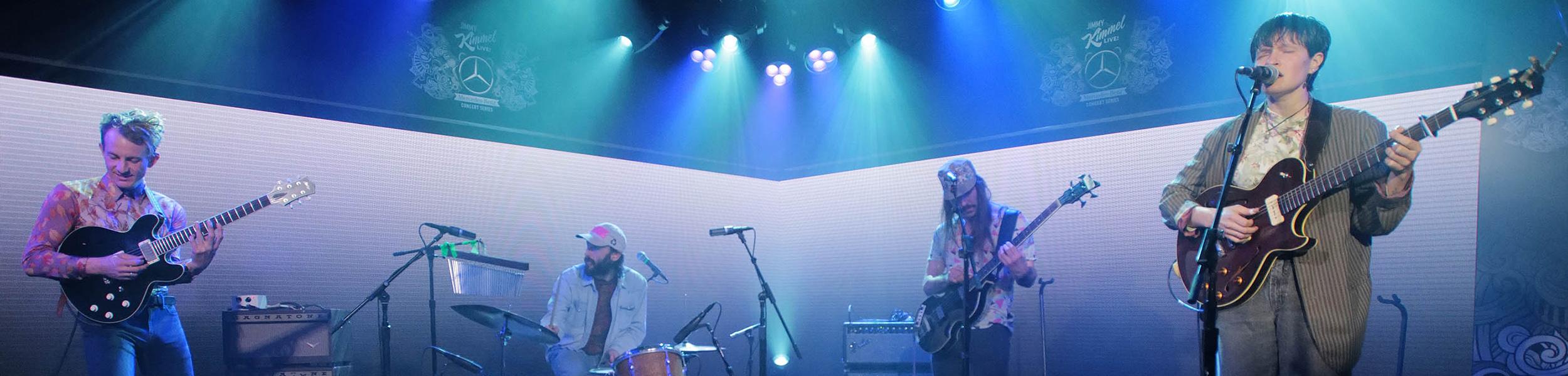 Big Thief - Big Thief Perform 'Shoulders' On Kimmel, New Tour Dates