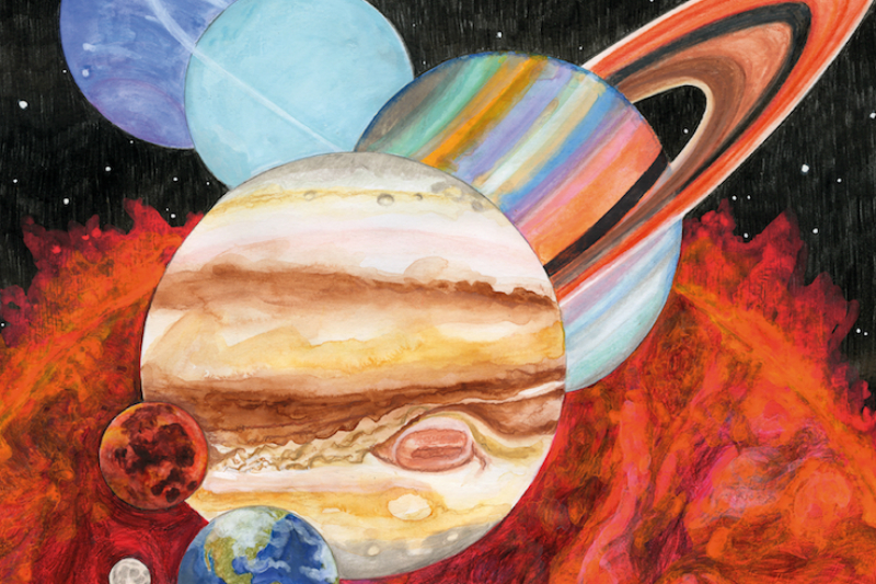Sufjan Stevens, Bryce Dessner, Nico Muhly, James McAlister - 'Planetarium' Released 9th June, Stream 'Saturn' Now