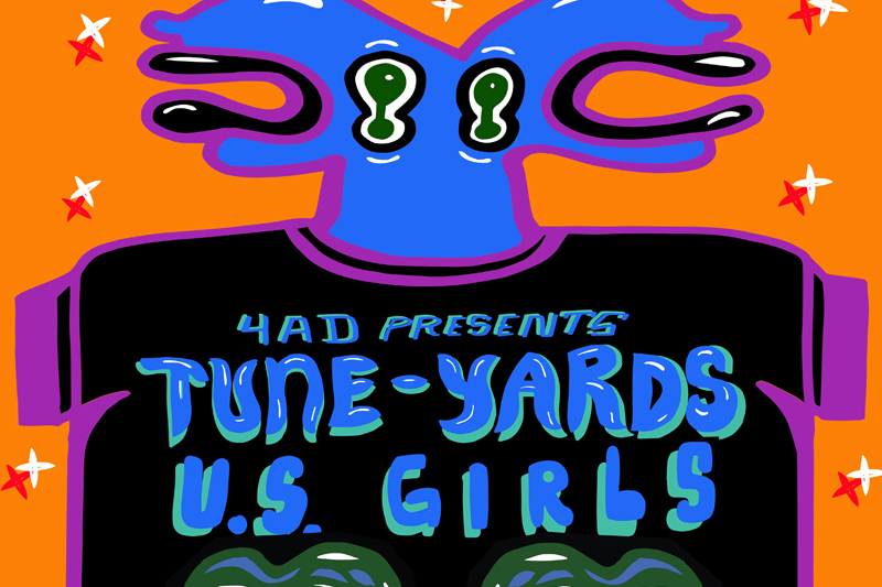 Tune-Yards - Hear Tune-Yards & U.S. Girls Remixes Of Each Other's Songs