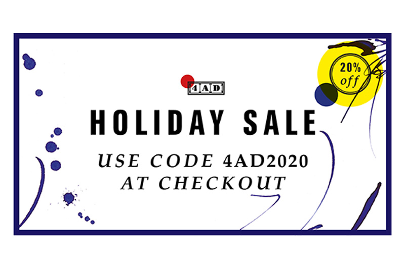 4AD - Holiday Sale Now On - Use 4AD2020 At Checkout For 20% Discount