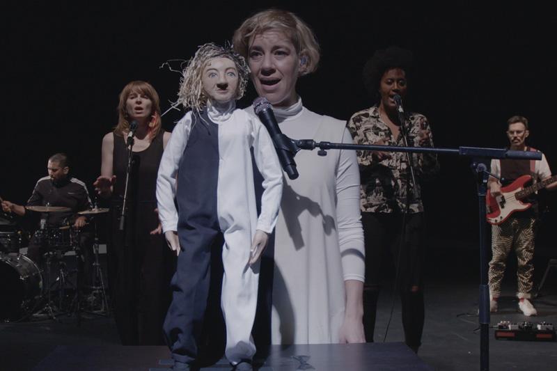 Tune-Yards - 'hypnotized' Debuts On 'Jimmy Kimmel Live'