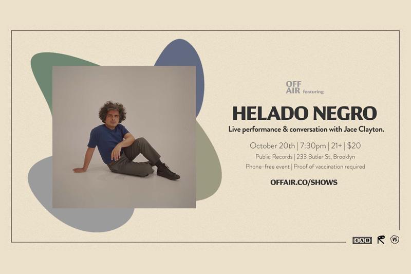 Helado Negro - New York Album Release Show