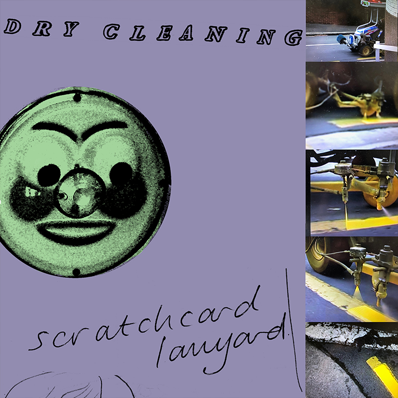 Dry Cleaning 'Scratchcard Lanyard'