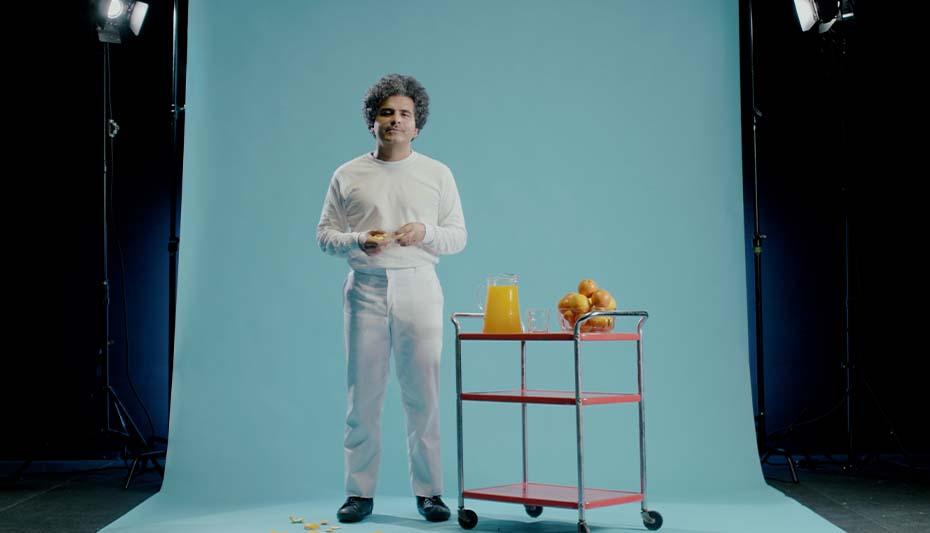 Helado Negro - 'La Naranja'